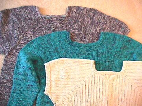 Sweatshirt :: HeartStrings Top Down Sweatshirt Sweater pattern